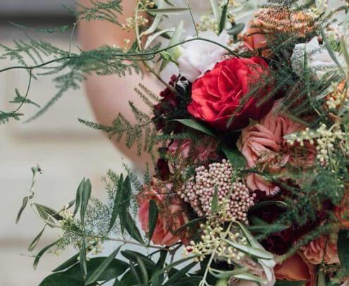Bruidsbloemwerk